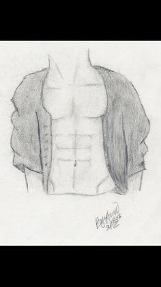 Drawing of abs Abs, Drawings, Abdominal Muscles, Sketch, Portrait, Six Pack Abs, Drawing, Resim, Paintings