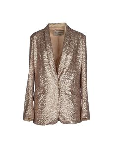 Adele Fado Queen Blazer in Gold | Lyst