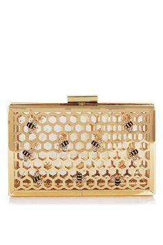 **Bee Clutch Bag by Skinny Dip