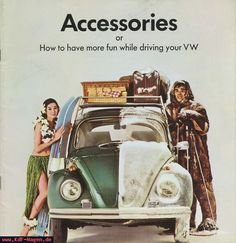 VW - 1967 - Accessories or How to have more fun while driving your VW - 43-00-70651 - [7974]-1