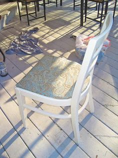 The Vintage Magi:: From Trash to Treasure: Ladder Back Chairs