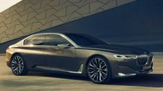 BMW is looking to go even bigger than its current range-topping 7 Series sedan. Read more about the BMW Vision Future Luxury Concept here. Bmw Serie 7, Bmw 7 Series, Suv Bmw, Bmw Cars, Mercedes Maybach, My Dream Car, Dream Cars, Maybach S600, Bmw Concept Car