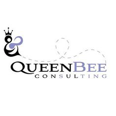 Queen Bee Consulting logo by Inlandesign