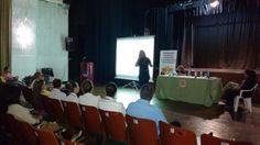 Exitosa charla sobre el stress en la mujer realizada en la ciudad de  Oliva