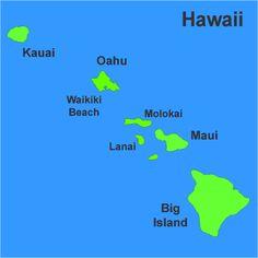 Hawaii, Hawaii, Hawaii  My favorite place in the world!