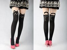 Cat Tights - http://www.differentdesign.it/2013/04/22/cat-tights/