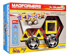 Magformers XL Cruisers Car Set (Colors may vary) Magformers http://smile.amazon.com/dp/B001KAZPXG/ref=cm_sw_r_pi_dp_2psvwb1HFMXX4