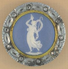 Wedgwood and steel button