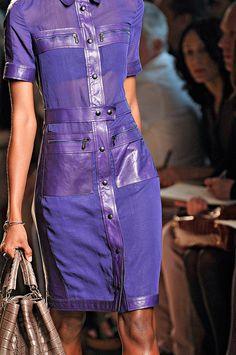 Bottega Veneta purple dress