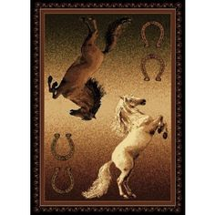 1000 Images About Wildlife Western Rugs On Pinterest