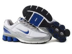 new style af850 731ef Find Men s Nike Shox Shoes White Silver Grey Blue Authentic online or in  pumafentynl. Shop Top Brands and the latest styles Men s Nike Shox Shoes ...