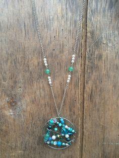 Handmade dreamcatcher necklace $68 at https://www.etsy.com/ca/shop/Relovedco