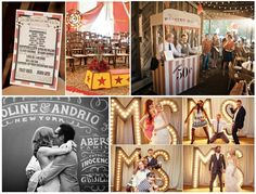 A circus themed moodboard of ours featured on the website of UKAWEP!