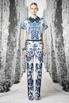 Cavalli, love the pants!...the top not so much