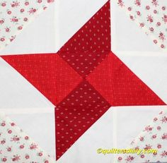 Friendship Star Quilt Block 4