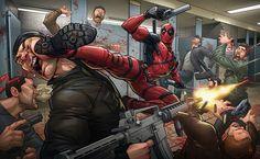 Deadpool by Patrick Brown