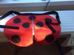 DIY Seven-Spotted Ladybug Costume - Part 1