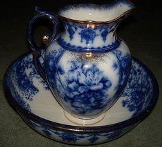 Bathroom Jug bowl and pitcher | pitcher and wash basins | pinterest | basins