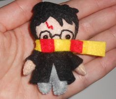Made to Order Tiny Harry Potter Plush Felt by houseofplush on Etsy. , via Etsy.
