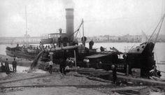 Vaixell al port de Vinaròs