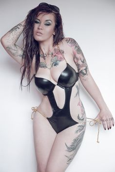 Sabien DeMonia-Create your own gallery to be in the running to model for Tattoo'd Lifestyle Magazine and Shop! www.tattoodlifestyle.com #tattoo #tattood #ink #models #girl #girls #magazine