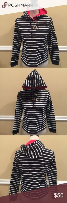 Ralph Lauren Hood Sweater Size Small EXCELLENT CONDITION!!!!!!! Soft hooded sweater with two clips as buttons🎈Make an offer 🎈accepts most offers Lauren Ralph Lauren Sweaters