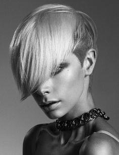 Short Hair Style Idea