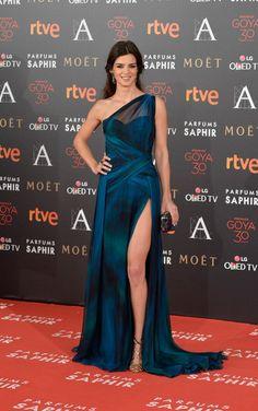 Calra Lago in Georges Chakra - Goya Cinema Awards 2016 - Red Carpet - February 6, 2016