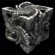A fractal is a mathematical set that  may have a beautiful, detailed pattern repeating itself or else be the same up close as from afar like the coastline of California or a lightning bolt. Fractals are found in nature as well as created by math equations.