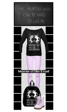 """""""Shayne of the Dead (34)"""" by irresistible-livingdeadgirl ❤ liked on Polyvore featuring 7 For All Mankind, Dr. Martens, pastelgoth, docmartens, witch, creepy and shayneofthedead"""