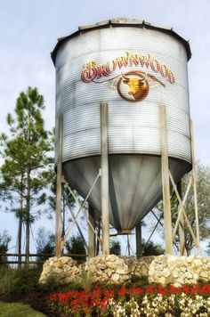 The Villages, Florida, The water tower at Brownwood