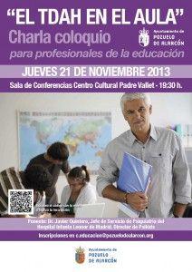 """Charla coloquio """"El TDAH en el aula"""" #PsikidsPozuelo #Aravaca #Madrid  #psicólogos"""