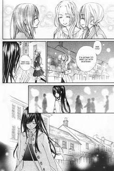 Vampire knight Memories cap 12, Yuuki kuran , Rima y Ruka.