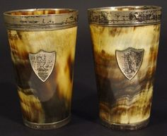 Shielded horns drinking cups!!