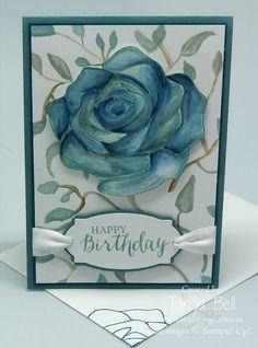 Stampin' Up! Stamping T! - Rose Wonder Birthday