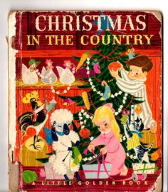 HARD TO FIND Rare Vintage 50's Christmas in the by scarlettess, $12.95