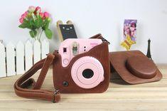 8 White Unicorn Case Bag for Fujifilm Instax Mini 8//8+// 9 Instant Film Camera with Shoulder Strap and Pocket Katia Pu Leather Instax Mini 9//8