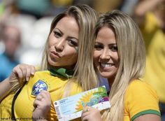 Top 15 countries with the most beautiful women in the world Soccer Fans, Soccer World, Football Fans, World Cup 2014, Fifa World Cup, Hot Fan, And Just Like That, Sports Wallpapers, Grid Girls