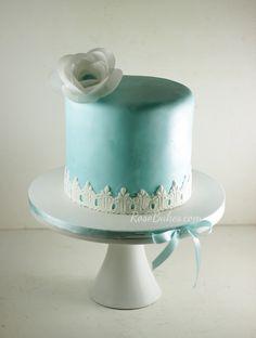 Tiffany Blue Cake wi
