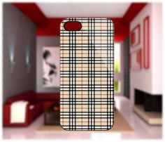 Burberry Classic Pattern Case For IPhone 5, IPhone 4/4S, Samsung Galaxy S2, Samsung Galaxy S3 Hard Case