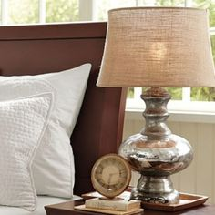 LOVE the Mercury Glass lamp!