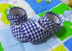 Шьем пинетки-туфельки для малышки. Мастер-класс.