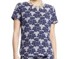 Marks & Spencer COLLECTION Floral Jacquard Shell Top T41/3762.  UK22 EUR50  MRRP: £25.00 GBP - AVI Price:  £15.00 GBP