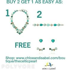 5/24 - 5/31 Buy 2 Get 1 Free Sitewide online at:www.chloeandisabel.com/boutique/thecelticpearl   #MemorialDay #Sale #Free #B2G1 #Buy2Get1Free #freewithpurchase #gift #freegift #freeitem #deal #Summer #love #jewelry #fashion #accessories #style #shopping #shop #buy #trendy #trending #trend #boutique #chloeandisabel #thecelticpearl