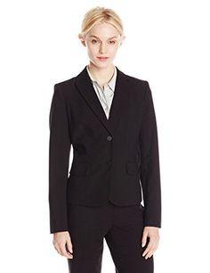 Calvin Klein Women's 2 Button Suit Jacket, Black, 4 for sale Best Blazer, Long Blazer, Cool Jackets, Calvin Klein Women, Blazer Fashion, Sports Jacket, Blazer Buttons, Suits For Women, Suit Jacket
