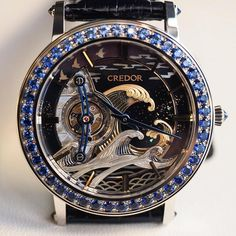 The Masterpieces Credor FUGAKU Tourbillon by Seiko.