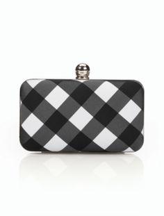 Talbots - Buffalo Plaid Minaudiere Clutch | Handbags |