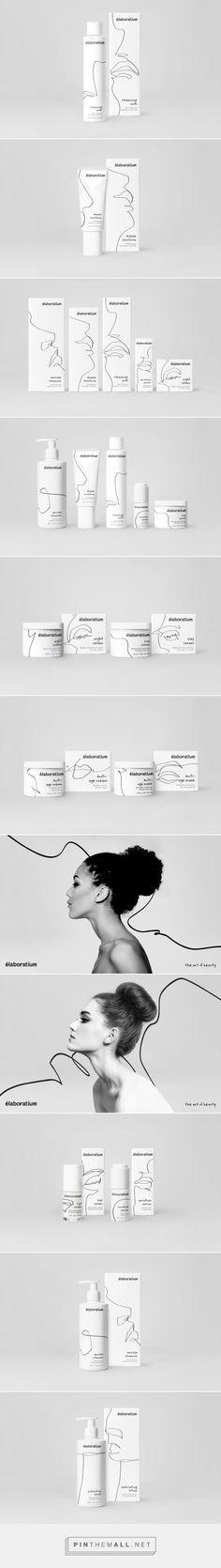 Elaboratium skin care (concept) packaging design by fb.com/steve.solodkov - https://www.packagingoftheworld.com/2018/03/elaboratium.html
