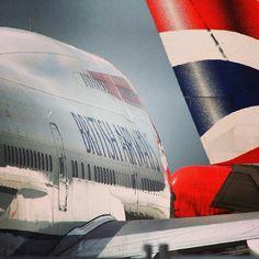 British Airways B747-400 @crowtravel
