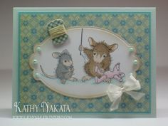 house-mouse cards | ... any house mouse cards in a long time so i made a card using one of